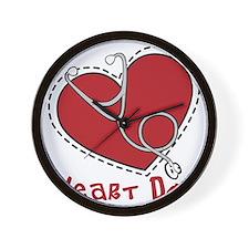 Heart Doc Wall Clock