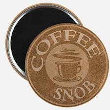Coffee Snob Coffee Logo Magnet