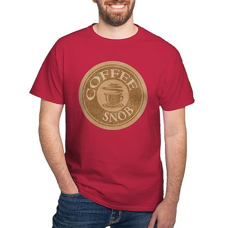 Coffee Snob Coffee Logo Dark T-Shirt