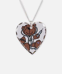 Doctor Teddy Necklace