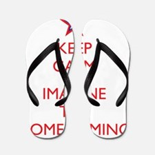 imagine homecoming black shirt Flip Flops