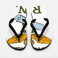 Official R.N. Flip Flops
