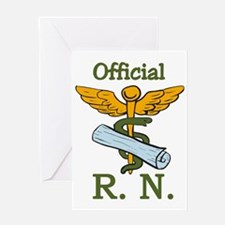 Official R.N. Greeting Card