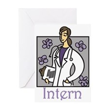 Intern Greeting Card