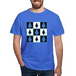 Penguin Pattern Dark T-Shirt