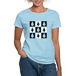 Penguin Pattern Women's Light T-Shirt