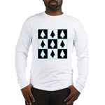 Penguin Pattern Long Sleeve T-Shirt