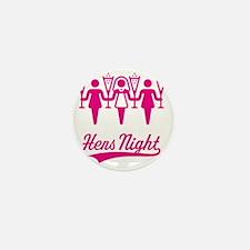 Hens Night (Bachelorette Party), magen Mini Button
