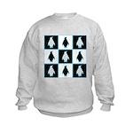 Penguin Pattern Kids Sweatshirt