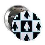 Penguin Pattern Button