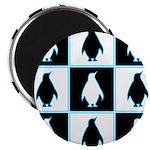 Penguin Pattern Magnet