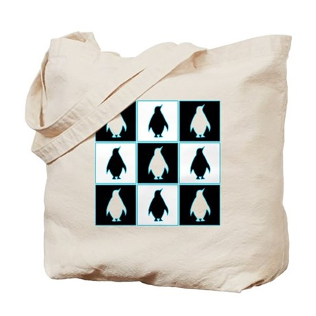 Penguin Pattern Tote Bag by justpenguins