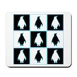 Penguin Pattern Mousepad