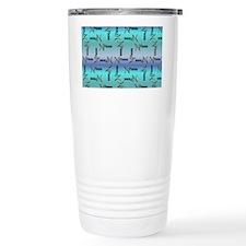 Blue Pisces Sign of the Travel Mug