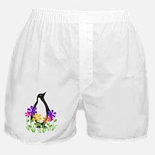 Penguin Garden Boxer Shorts