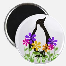 Penguin Garden Magnet