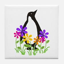 Penguin Garden Tile Coaster