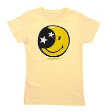 Moon Smiley Girl's Tee