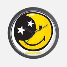 Moon Smiley Wall Clock