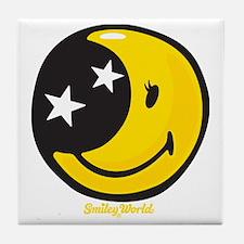 Moon Smiley Tile Coaster
