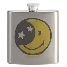 Moon Smiley Flask