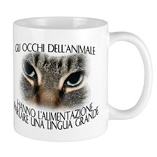 Gli occhi dell'animale 2-sided Mug