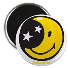 Moon Smiley Magnet
