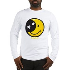 Moon Smiley Long Sleeve T-Shirt