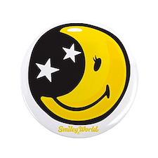 """Moon Smiley 3.5"""" Button"""