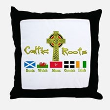 My Celtic Heritage. Throw Pillow