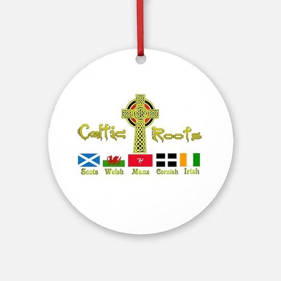 My Celtic Heritage. Ornament (Round)