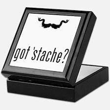 Mustache-068-A Keepsake Box