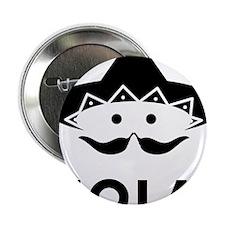 """Chilli-Mustache-03-A 2.25"""" Button"""