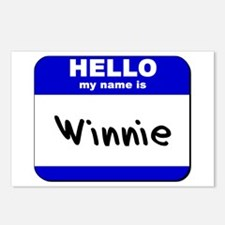 hello my name is winnie  Postcards (Package of 8)