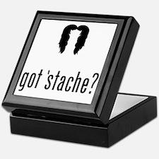 Mustache-057-A Keepsake Box