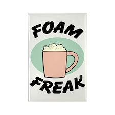 Foam Freak Rectangle Magnet