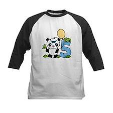 Lil' Panda Boy 5th Birthday Tee