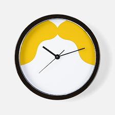 Mustache-004-B Wall Clock