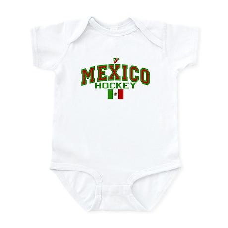MX Mexico Hockey Infant Bodysuit