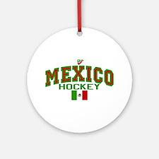 MX Mexico Hockey Ornament (Round)