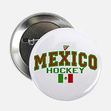 """MX Mexico Hockey 2.25"""" Button"""
