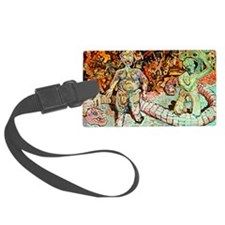 ADAM AND EVE ON JUDGEMENT DAY Luggage Tag