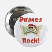 Pirate Birthday Button