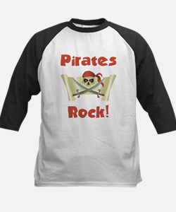 Pirate Birthday Kids Baseball Jersey