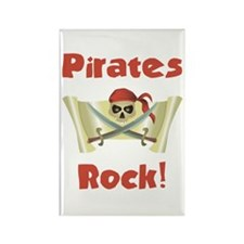 Pirate Birthday Rectangle Magnet