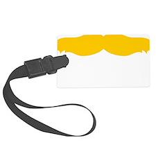 Mustache-012-B Luggage Tag