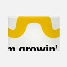 Mustache-019-A Rectangle Magnet