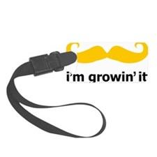 Mustache-024-A Luggage Tag