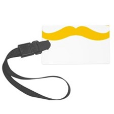 Mustache-013-B Luggage Tag