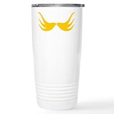 Mustache-031-B Travel Mug